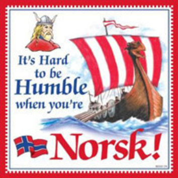 Kitchen Wall Plaques: Humble Norsk