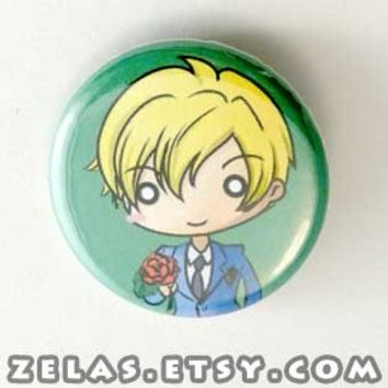 Ouran Host Club - Tamaki Button