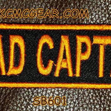 ROAD CAPTAIN Small Badge Patch for Vest jacket SB601