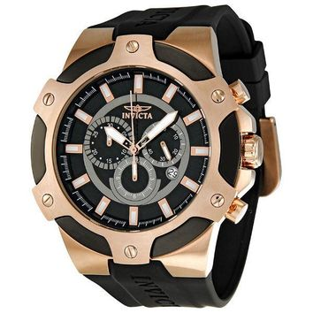 Invicta Signature II Chronograph Rose Gold-tone Mens Watch 7344