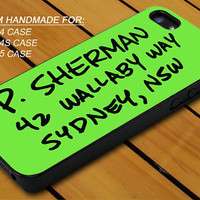 Finding Nemo Address - iPhone 4 / 4s or iPhone 5 Case - Hard Case Print - Black or White Case - Please leave message