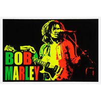 Bob Marley - Blacklight Poster