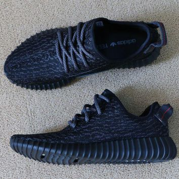 Free Shipping YEEZY BOOST 350 AQ2659 PIRATE BLACK US Size 10.5 for Men