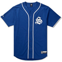 Stussy Blue S Baseball Jersey Shirt | HYPEBEAST Store. Shop Online for Men's Fashion, Streetwear, Sneakers, Accessories