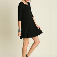 Counting My Stars Dress - Black