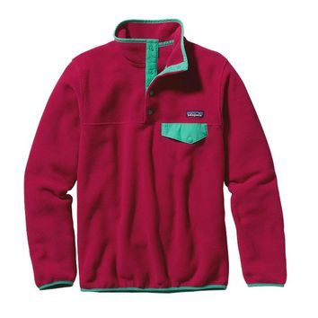 Patagonia Women's Lightweight Synchilla® Snap-T® Pullover | Wild Desert: Beryl Green