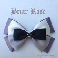 briar rose hair bow