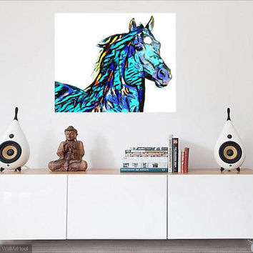 Equestrian printable art HORSE print, GICLEE, Equestrian INSTANt download, wall art, best seller  artwork, wall print best selling