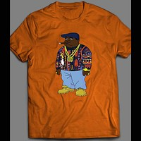 CARTOON OF NOTORIOUS BIG OLDSKOOL HIP HOP SHIRT