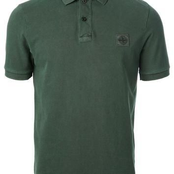 Stone Island Washed Polo Shirt