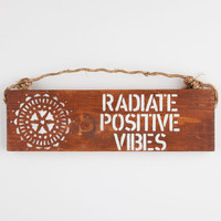 Positive Vibes Sign 252920423 | Room & Dorm