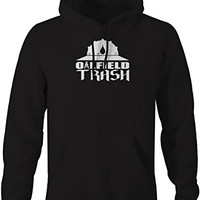 Oilfield Trash Hardhat Oil Barrack Union Worker Sweatshirt - 4XL