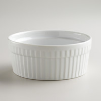 White 9.5-oz. Ramekin, Set of 4 - World Market