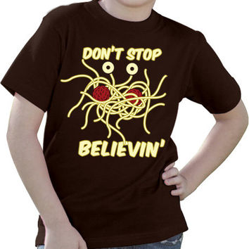 Flying Spaghetti Monster Tee - Mens, Womens, & Kids Sizes Small-2XL Available