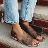 Mont Blanc Sandal - Brown by Free People