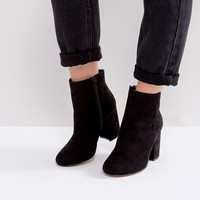 ASOS RAQUEL Wide Fit Ankle Boots at asos.com