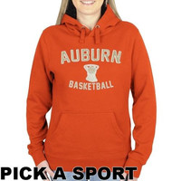 Auburn Tigers Ladies Legacy Pullover Hoodie - Orange