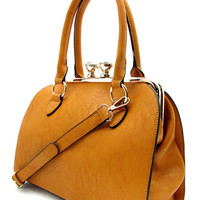 DESIGNER SATCHEL BAG