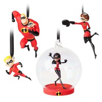 Disney Incredibles 2 Ornament Mr Incredible Jack-Jack Elastigirl Violet Dash New