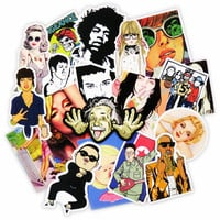 Hot Sale 25 Pcs Boys and Girls Sticker Toy Skateboard Luggage Home Decor Vinyl Decal Laptop Car Styling Doodle Cool DIY Stickers