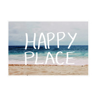 Happy Place Ocean Art Print