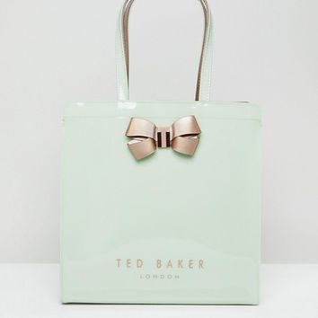Ted Baker Large Icon Bag with Bow at asos.com