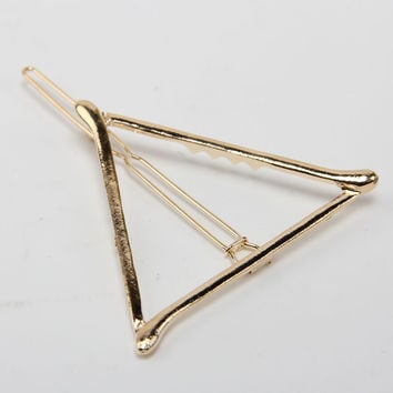 Tiffany Triangle Hair Barrette