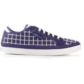 puma black label by alexander mcqueen checked trainer  number 1