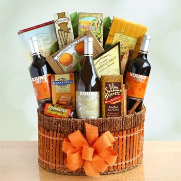California Vines Wine Gift Basket