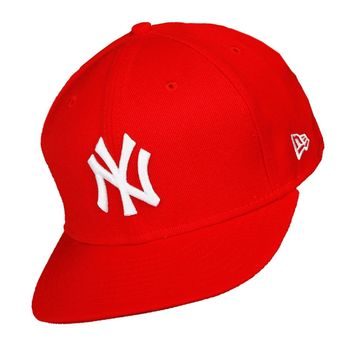 New Era Cap NY Yankees Cap Red White - New York Baseball Fitted Cap