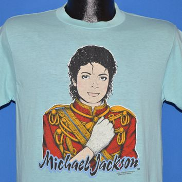 d89ecc81 80s Michael Jackson Portrait t-shirt Medium