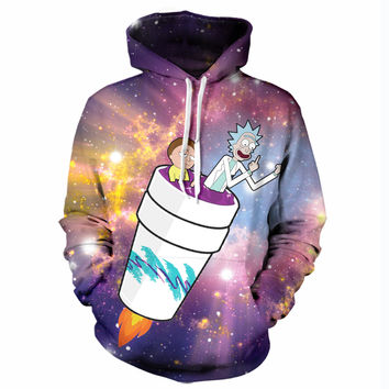 Rick and Morty Take Off Hoodie
