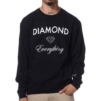 Diamond Supply Diamond Everything Black Crew Neck Sweatshirt at Zumiez : PDP