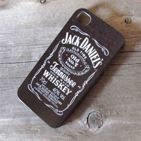 Custom Jack Daniel's iPhone 4 Case - iPhone 4S Case Cover - Plastic
