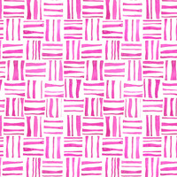 Pink Woven Watercolor - heatherdoucette - Spoonflower
