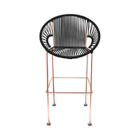 Corded Clamshell Chair - Copper Frame