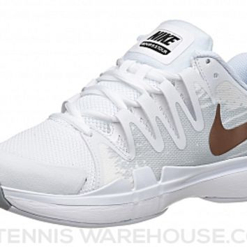 Nike Zoom Vapor 9.5 Tour White/Bronze Women's Shoe