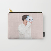 BTS Taehyung | Singularity Carry-All Pouch by marylobs