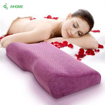 Velvet Cover Bed Cervical Orthopedic Pillow Magnetic Therapy Pillows Neck Head Care anti-bacterial anti-mite inner pillowcase