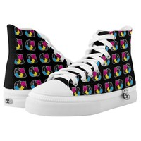 Pansexual Panda LGBT Pride Printed Shoes