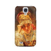 P1094 Russian Beauty Konstantin Makovsky Case For Samsung Galaxy S4
