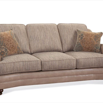 Serta Upholstery Emu Praline Sofa and Loveseat
