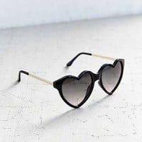 Cara Heart Frame Sunglasses