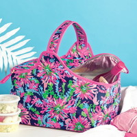Lilly Pulitzer Party Cooler in Trippin' And Sippin' Navy - Ryan's Daughters