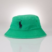 Big Pony Cotton Bucket Hat