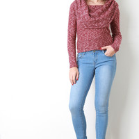 Light Stone Wash Skinny Jeans