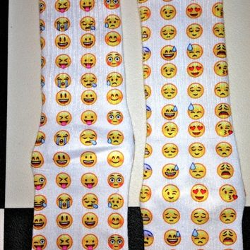 SWEET LORD O'MIGHTY! EMOJI FACES SOCKS