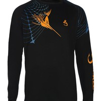 Men's Marlin Web UV Vented L/S Fishing Shirt