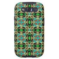 Black, Turquoise, Green, Camel Native American Galaxy S3 Case from Zazzle.com