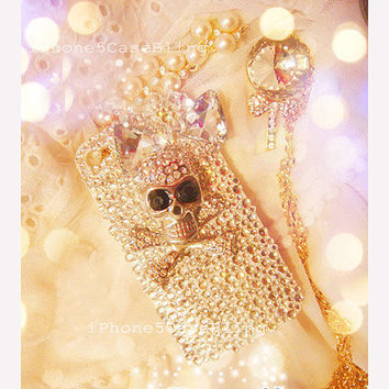 iPhone 5 Case iPhone 5C case iPhone 5S case iPhone 4 Case halloween iPhone 5 Case Bling iphone 4 case cool iphone 5 case Skull iphone 4 case